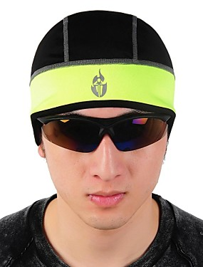 cheap Sports & Outdoors-WOLFBIKE Cycling Beanie / Hat Helmet Liner Hat Headsweat Ultraviolet Resistant Detachable Cap Bike / Cycling Black Green Polyester Fleece Winter for Men's Women's Adults' Camping / Hiking Fishing