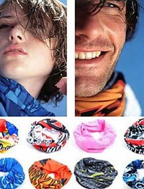 cheap Sports & Outdoors-Neck Gaiter Neck Tube UV Resistant Quick Dry Lightweight Assorted Color Bandana Bike / Cycling Polyester for Men's Women's Adults' Camping / Hiking Cycling Mountain Bike MTB Road Bike