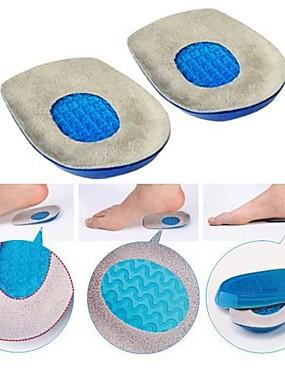 preiswerte Fussmassagegerät-Gel Fersenkissen Massagefersenpolster Tassen Schock absorbrion Schuhe Einsätze