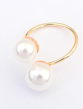 billige Fashion Rings-Dame Ring tommelfingerring 1pc Legering Sirkelformet damer Klassisk Fest Fest / aften Smykker Prinsesse Billig