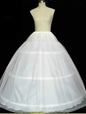 povoljno Trgovina vjenčanja-Podsuknje Line-Slip Ball haljina proklizavanja Crkveni Vlak Do poda 2 Tulle Netting Obala