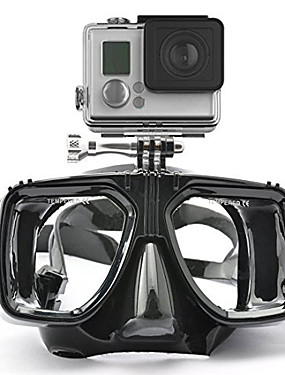 cheap Sports & Outdoors-Goggles Diving Masks Mount / Holder 1 pcs For Action Camera All Gopro Gopro 5 Gopro 4 Gopro 4 Session Gopro 3 Diving Silicone Rubber / Gopro 1 / Gopro 2 / Gopro 3+ / Gopro 3/2/1 / Sports DV