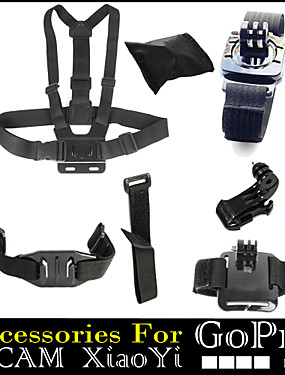 cheap Sports & Outdoors-Chest Harness Front Mounting Straps For Action Camera All Gopro Gopro 5 Gopro 4 Gopro 3 Gopro 2 Diving Surfing Universal Plastic Nylon Fiber Carbon / Gopro 3+ / Gopro 3+ / Wrist Strap