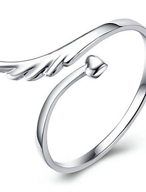 billige Fashion Rings-Dame vikle ring tommelfingerring Krystall Sølv Krystall Legering damer Uvanlig Unikt design Daglig Avslappet Smykker / Strass