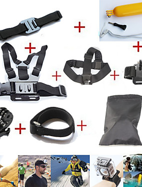 cheap Sports & Outdoors-Case / Bags Straps Mount / Holder Waterproof Floating For Action Camera All Gopro Xiaomi Camera Gopro 4 Gopro 4 Session Gopro 3 Diving Surfing Ski / Snowboard Plastic Fiber Carbon / Gopro 3+