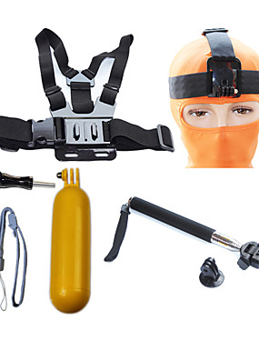 cheap Sports & Outdoors-Telescopic Pole Front Mounting Straps Waterproof Floating For Action Camera Gopro 6 Gopro 5 Xiaomi Camera Gopro 3 Gopro 2 Diving Surfing Ski / Snowboard Plastic / SJ4000 / Tripod