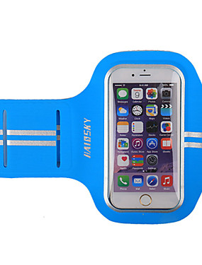 cheap Sports & Outdoors-HAISKY Armband Cell Phone Bag Running Pack for Running Racing Cycling / Bike Jogging Sports Bag Touch Screen Wearable Phone / Iphone Terylene Running Bag / iPhone X / iPhone XS Max / iPhone XS