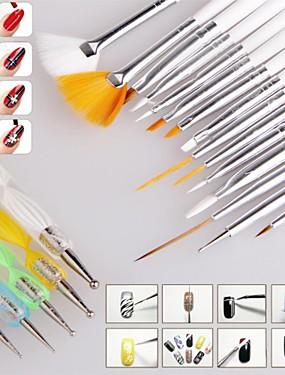 levne Štětečky na nehty-tečkování nástroje Pro Lehká pevnost a trvanlivost nail art manikúra pedikúra Klasické / Módní Denní