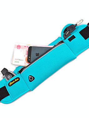 cheap Sports & Outdoors-Running Belt Fanny Pack Waist Bag / Waist pack for Running Marathon Camping / Hiking Hunting Sports Bag Multifunctional Waterproof Quick Dry Nylon Unisex Running Bag / iPhone 8/7/6S/6