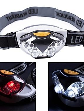 povoljno glava svjetiljke-OEM Svjetiljke za glavu Vodootporno Male veličine 1200 lm LED LED emiteri 3 rasvjeta mode Vodootporno Male veličine Kampiranje / planinarenje / Speleologija Uporaba Ribolov