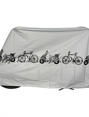 cheap Sports & Outdoors-Bike Cover For Bike / Cycling Synthetic Waterproof / Windproof / Dust Proof Cycling Bicycle White