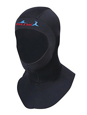 cheap Sports & Outdoors-Dive&Sail Diving Wetsuit Hood 3mm Neoprene for Adults - Thermal / Warm UV Sun Protection Ultraviolet Resistant Swimming Diving Snorkeling / Men's / Women's