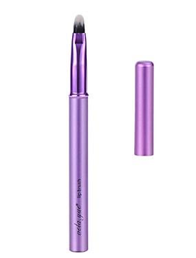 preiswerte Vela.yue-Professional Makeup Bürsten Lippenpinsel 1 Tragbar Für Reisen Umweltfreundlich Professionell Synthetik Hypoallergen Antibakteriell Mischen Künstliches Haar Metall zum Cream Flüssigkeit Puder