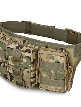 cheap Sports & Outdoors-AILE 10-20 L Fanny Pack Hiking Waist Bag Military Tactical Backpack Waterproof Shockproof Wear Resistance Outdoor Camping / Hiking Climbing Cycling / Bike Oxford