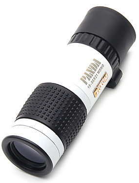 cheap Sports & Outdoors-PANDA 15 X 22 mm Monocular Night Vision High Definition / Generic / Carrying Case bak4 83m-1000m Hunting Bird watching general use normal zoom binoculars dimlight white