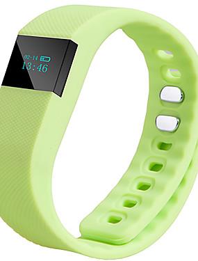 preiswerte Handys & Elektronik-TW64 AktivitätenTracker / Schweißbänder / Smart-Armband iOS / Android / iPhone Wasserdicht / Zeitschaltuhr / Wecker Schwerkraft-Sensor Schwarz / Orange / Blau / Bluetooth 4.0 / Schrittzähler / AMOLED