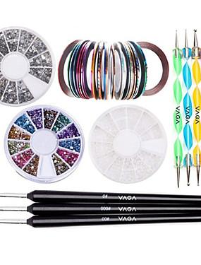 voordelige puntjes gereedschap-Nagellak Voor Lichtgewicht Sterkte En Duurzaamheid Nagel kunst Manicure pedicure Klassiek / Modieus Dagelijks