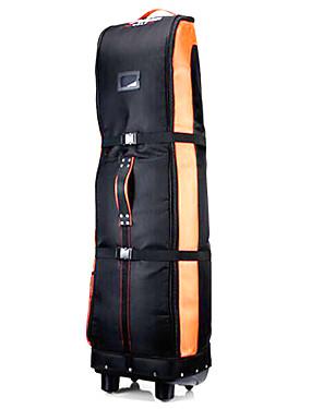 preiswerte Schlägersportarten-Golfschläger Reisetasche Wasserdicht 2 Auf Rädern Nylon Leistung Training Draussen Golfspiel Reise Flugzeuge