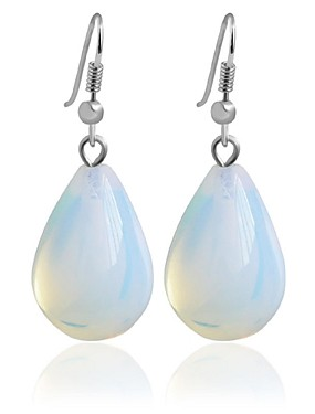 preiswerte Black friday-Damen Tropfen-Ohrringe Kreolen Modisch Ohrringe Schmuck Transparent Für Hochzeit Party 1pc