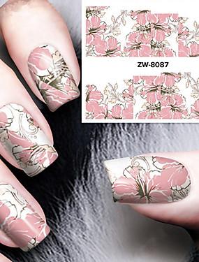 preiswerte Vollständige Nagel Aufkleber-Nail Art Nail Sticker Wassertransfer Abziehbilder