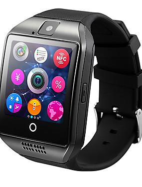 preiswerte Intelligente Elektronik-Q18 Herren Smartwatch Android iOS 3G Bluetooth Wasserfest Herzschlagmonitor Freisprechanlage Video Kamera Timer Stoppuhr Schlaf-Tracker Finden Sie Ihr Gerät Wecker / Gemeinschaft teilen / 128MB