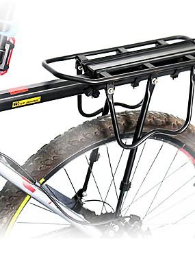 cheap Sports & Outdoors-Bike Cargo Rack Max Load 50 kg Adjustable Reflective Logo Quick Release Coating Aluminium Alloy Road Bike Mountain Bike MTB Cycling / Bike - Black