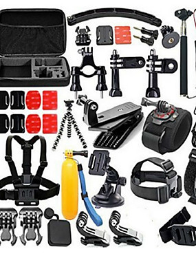 cheap Sports & Outdoors-Accessory Kit For Gopro 30 in 1 Convenient For Action Camera Gopro 3/2/1 Diving Universal Military / Tactical Plastic Nylon Rubber
