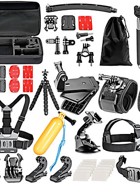 cheap Sports & Outdoors-Accessory Kit For Gopro 36 pcs For Action Camera Gopro 6 Gopro 5 Xiaomi Camera Gopro 4 Gopro 3 Swimming Diving Skiing Plastic Nylon EVA / Gopro 1 / Gopro 2 / Gopro 3+ / Sports DV / SJCAM