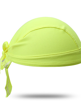 cheap Sports & Outdoors-XINTOWN Skull Cap Beanie Do Rag UV Resistant Breathable Quick Dry Ultraviolet Resistant Dust Proof Bike / Cycling Black Green / Yellow White Winter for Men's Women's Adults' Camping / Hiking Climbing