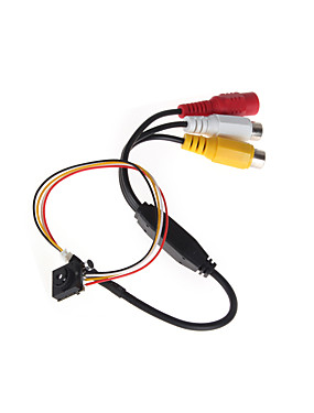 preiswerte HQCAM-cmos 600tvl Sicherheit Indoor CCTV-Kamera Mini-Kamera Lochkamera