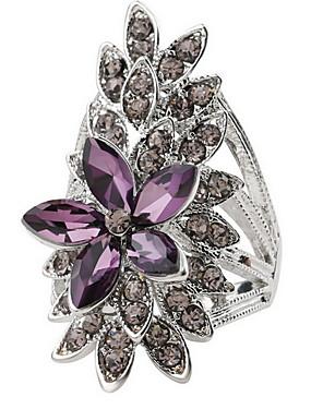 billige Fashion Rings-Dame Ring Sølv Legering damer Klassisk Stil Mote Daglig Avslappet Smykker