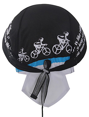 cheap Sports & Outdoors-XINTOWN Skull Caps Hat Headsweat Do Rag Windproof Sunscreen UV Resistant Breathable Quick Dry Bike / Cycling Black Winter for Men's Women's Unisex Camping / Hiking Fishing Cycling / Bike Backcountry