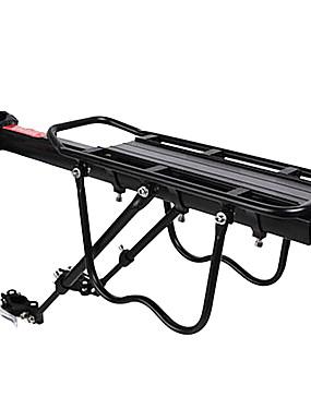 cheap Sports & Outdoors-Bike Cargo Rack Rear Rack Max Load 50 kg Adjustable Easy to Install Aluminium Alloy Mountain Bike / MTB - Black
