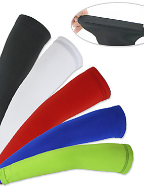 cheap Sports & Outdoors-XINTOWN Cycling Sleeves Armwarmers Lightweight Sunscreen UV Resistant Breathable Comfort Bike / Cycling Red Green Blue Elastane Winter for Men's Women's Adults' Road Bike Mountain Bike MTB Fishing