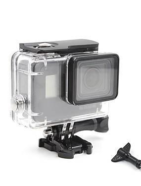 cheap Sports & Outdoors-Waterproof Housing Case Waterproof 1 pcs For Action Camera Gopro 5 Diving Surfing Ski / Snowboard