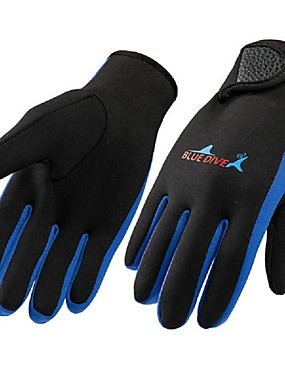 cheap Sports & Outdoors-Bluedive Diving Gloves 1.5mm Nylon Neoprene Water Sports Gloves Tactical Warm Quick Dry Diving Surfing Boating / Kid's