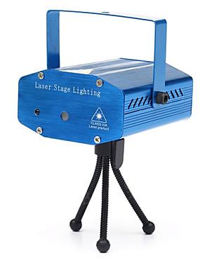 baratos Instrumentos Musicais-U'King Luz de Palco Laser Ativo por Som / automático para Exterior / De Festa / Palco Profissional