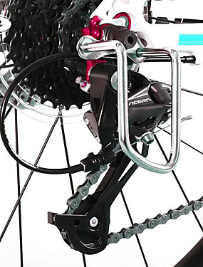 cheap Sports & Outdoors-Derailleur Guard / Protector Durable For Road Bike Mountain Bike MTB BMX TT Folding Bike Cycling Bicycle Aluminium Alloy Black