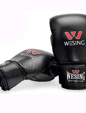 cheap Sports & Outdoors-Boxing Bag Gloves / Pro Boxing Gloves / Boxing Training Gloves For Mixed Martial Arts (MMA) Full Finger Gloves Protective Synthetic Leather Unisex - Black / Red / Blue / Winter