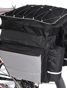 cheap Sports & Outdoors-FJQXZ 64 L Bike Panniers Bag Waterproof Handbag 3 In 1 Large Capacity Waterproof Bike Bag Polyester 600D Nylon Bicycle Bag Cycle Bag Road Bike Mountain Bike MTB Cycling / Bike / Reflective Strips