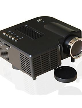 preiswerte Audio & Video für Ihr Zuhause-uc28 universal 400 lumen hd 400 lumen multimedia led haushaltsprojektor unterstützung 60 zoll großbildprojektion usb / sd / av eingang mini unterhaltungsprojektor uc28 +