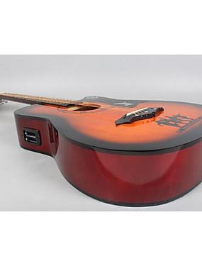 preiswerte Gitarren-Schnur-Musikinstrument Anhänge-Etikett