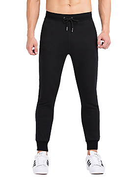 cheap Sports & Outdoors-Vansydical® Men's Running Pants Track Pants Sports Pants Athletic 1 pc Bottoms Sport Exercise & Fitness Quick Dry Classic / Stretchy