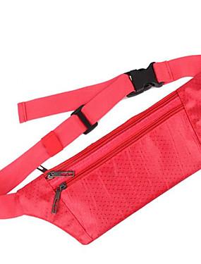 cheap Sports & Outdoors-Running Belt Fanny Pack Waist Bag / Waist pack 0.1 L for Yoga Running Marathon Camping / Hiking Sports Bag Multifunctional Waterproof Rain Waterproof Terylene Waterproof Material Running Bag