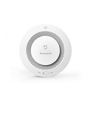 ราคาถูก อุปกรณ์Xiaomi-Xiaomi mijia honeywell ปลุกเซ็นเซอร์รักษาความปลอดภัยควันไฟและเครื่องตรวจจับก๊าซมัลติฟังก์ชั่ 2 รักษาความปลอดภัยบ้านสมาร์ทที่มีแบตเตอรี่ app ควบคุม wifi สนับสนุน ios / android