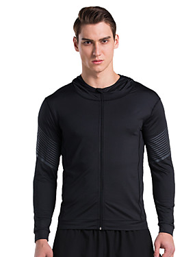 cheap Sports & Outdoors-Vansydical® Running T-Shirt Long Sleeve 1 pc Quick Dry Exercise & Fitness Sportswear Top Activewear High Elasticity