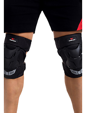 cheap Sports & Outdoors-Unisex Knee Brace for Skiing Skating Skateboarding Motobike/Motorbike Cross-Country Shockproof Wearproof 1 Pair Sports Outdoor PE
