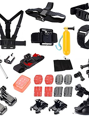 cheap Sports & Outdoors-Sports Action Camera Tripod Multi-function Foldable Adjustable 1 pcs For Action Camera Gopro 6 All Gopro Xiaomi Camera SJCAM SJ5000 Diving Surfing Ski / Snowboard PVC(PolyVinyl Chloride) IIR EVA
