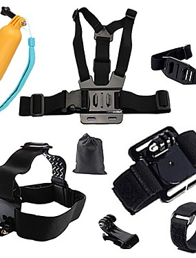 cheap Sports & Outdoors-Sports Action Camera Chest Harness Front Mounting Multi-function Foldable Adjustable 1 pcs For Action Camera Gopro 6 All Gopro Xiaomi Camera Gopro 4 Session Gopro 4 Black Diving Surfing Ski / SJCAM
