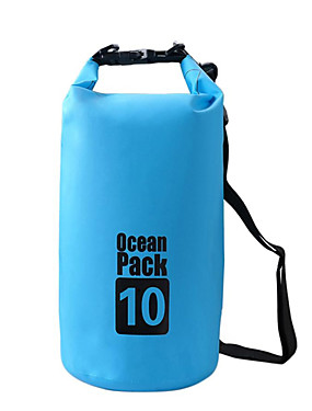 cheap Sports & Outdoors-10 L Waterproof Dry Bag Waterproof Floating Lightweight for Swimming Diving Surfing